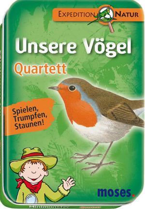 Quartett Unsere Vögel
