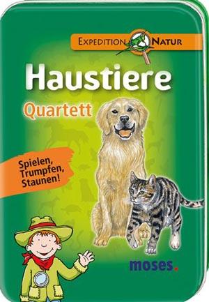 Quartett Haustiere