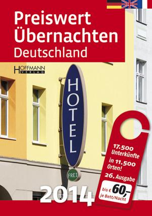 Preiswert übernachten Deutschland 2014