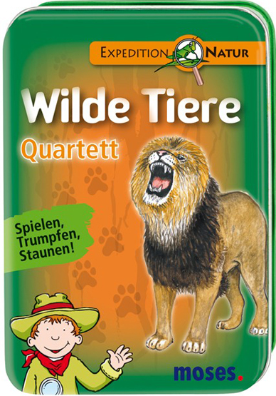 Quartett Wilde Tiere