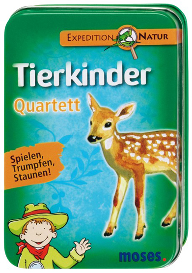 Quartett Tierkinder