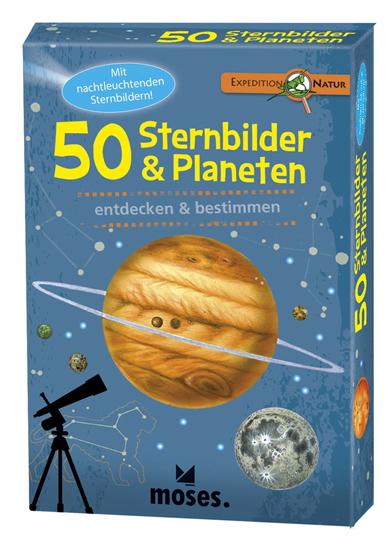 50 Sternenbilder und Planeten