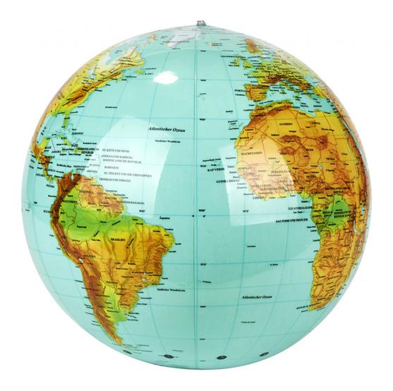 Aufblasbarer Globus